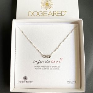 NEW Dogeared Silver Infinite Love Necklace